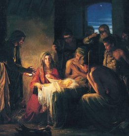 Carl Bloch The Nativity Christmas Card Pack of 50