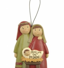 HANGING NATIVITY DECORATION