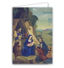 "Altus fine art Jorge Cocco ""Nativity"" Christmas Greeting Card Box of 20"