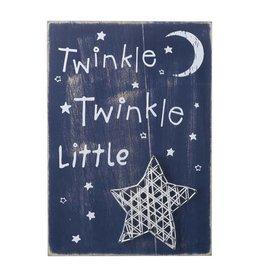Twinkle Twinkle Little Star Wall Sign
