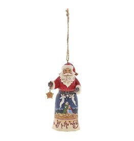 enesco Jim Shore Joy to the World Santa (Hanging ornament)