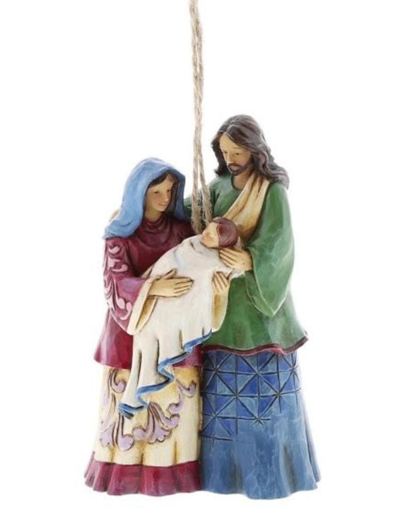 enesco Jim Shaw Holy Family (Hanging ornament)