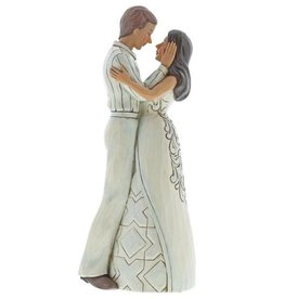 enesco Jim Shore Our Love Is Everlasting (Couple embracing)