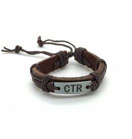 Leather CTR Bracelet