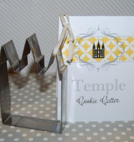 Temple Cookie Cutter