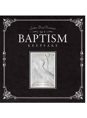 My Baptism Keepsake, By Sara Staker