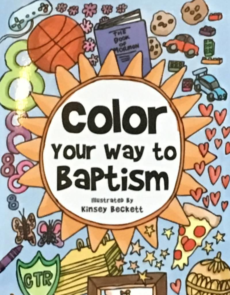 Color Your Way to Baptism (pamphlet)