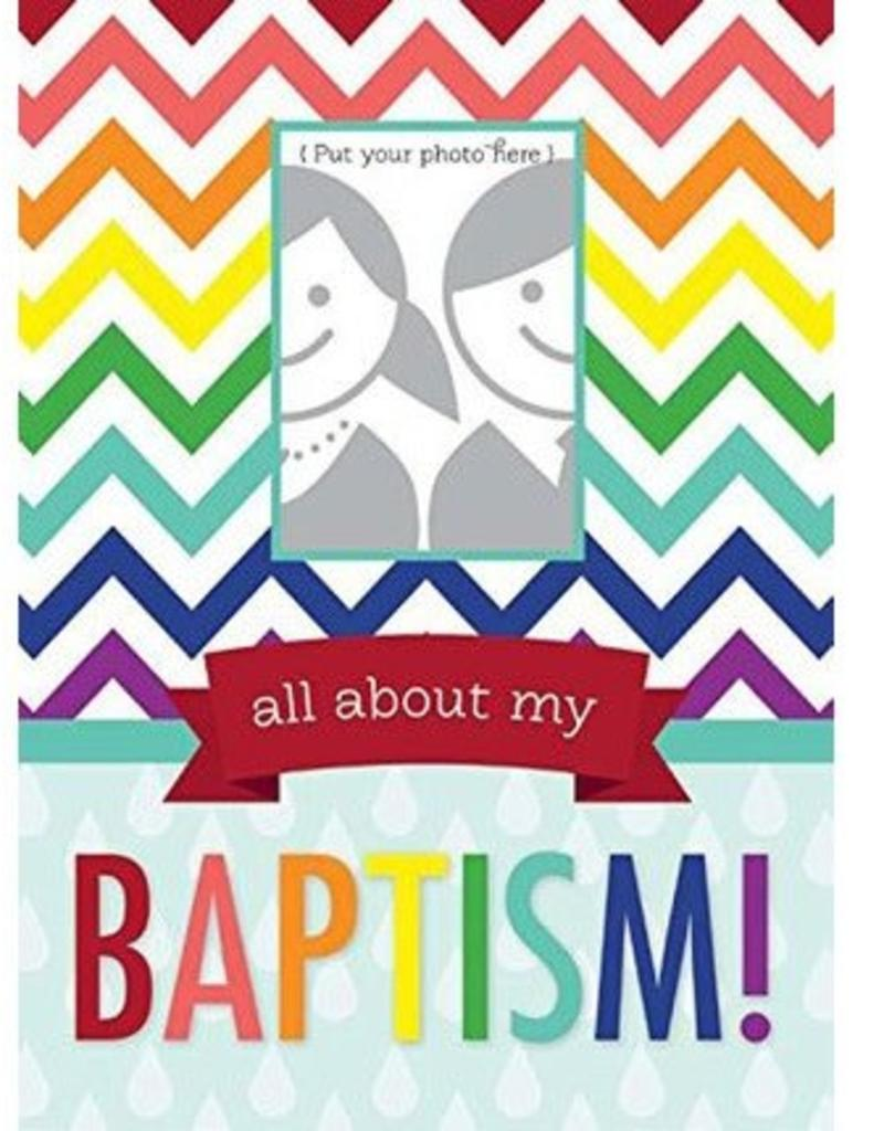 All about my Baptism. RAINBOW BAPTISM JOURNAL
