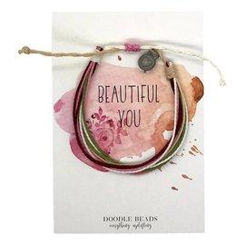 Beautiful you Thread Bracelet