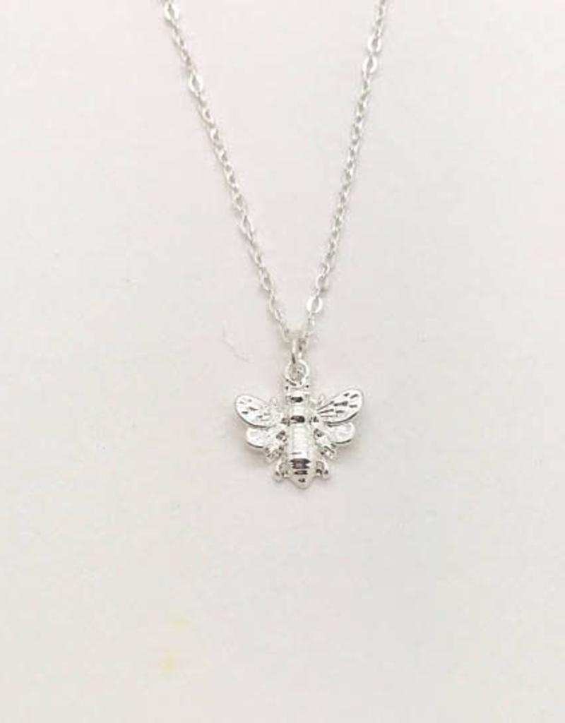You're The Bee's Knees Necklace Silver