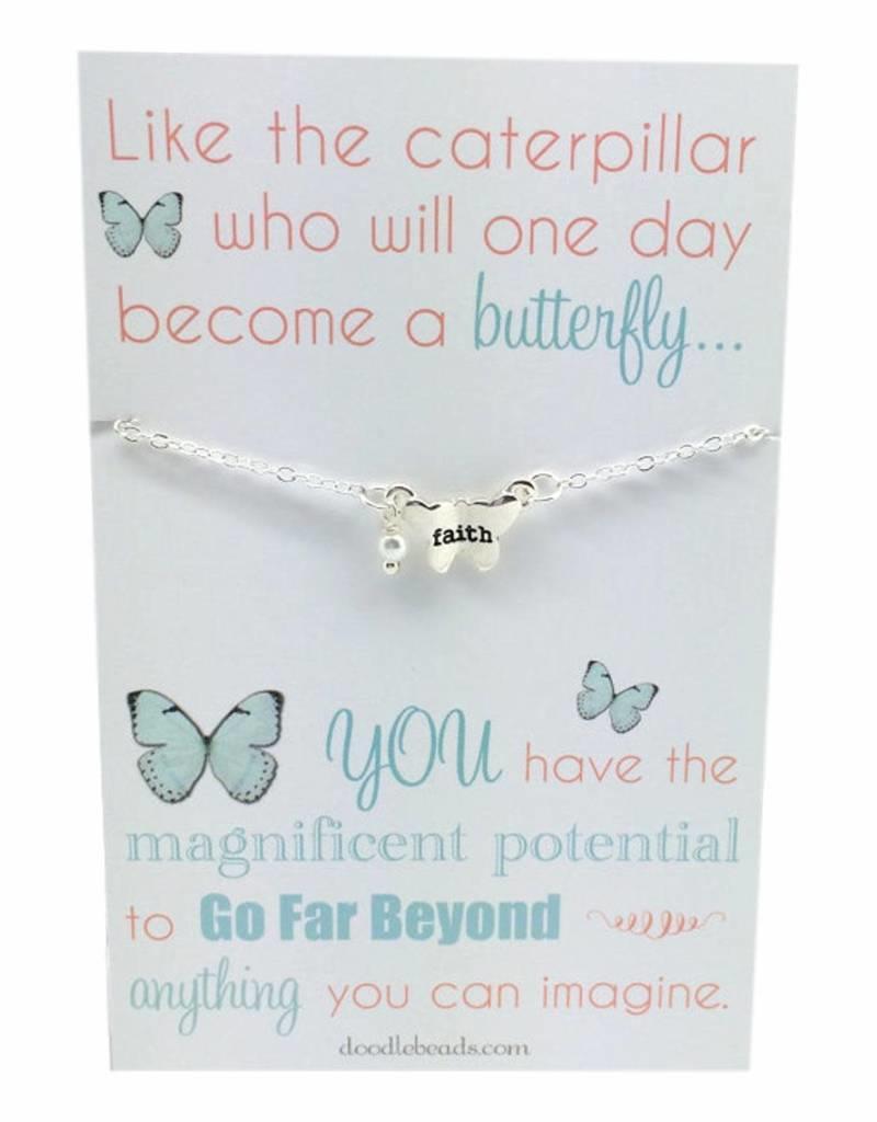 Butterfly Faith Necklace