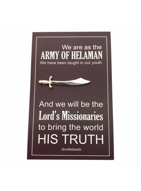 Army of Heleman Tie Bar
