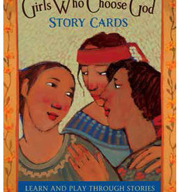 Girls Who Choose God Story Cards,