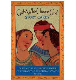 Girls Who Choose God Story Cards,