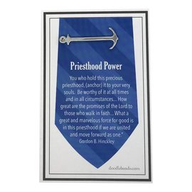 Anchor Tie Bar Silver – Priesthood Power