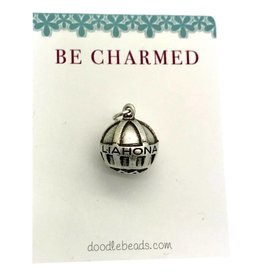 Be Charmed Liahona Charm Silver