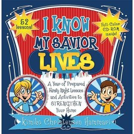 Cedar Fort Publishing I Know My Savior Lives: A Year of Prepared Family Night Lessons and Activities to Strengthen Your Home (CD included) - Paperback