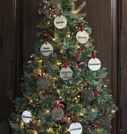 Names of Christ Ornaments set of 12