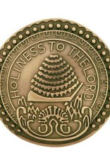 Holiness To The Lord Pin Antique Gold