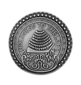 Holiness To The Lord Pin Antique Silver