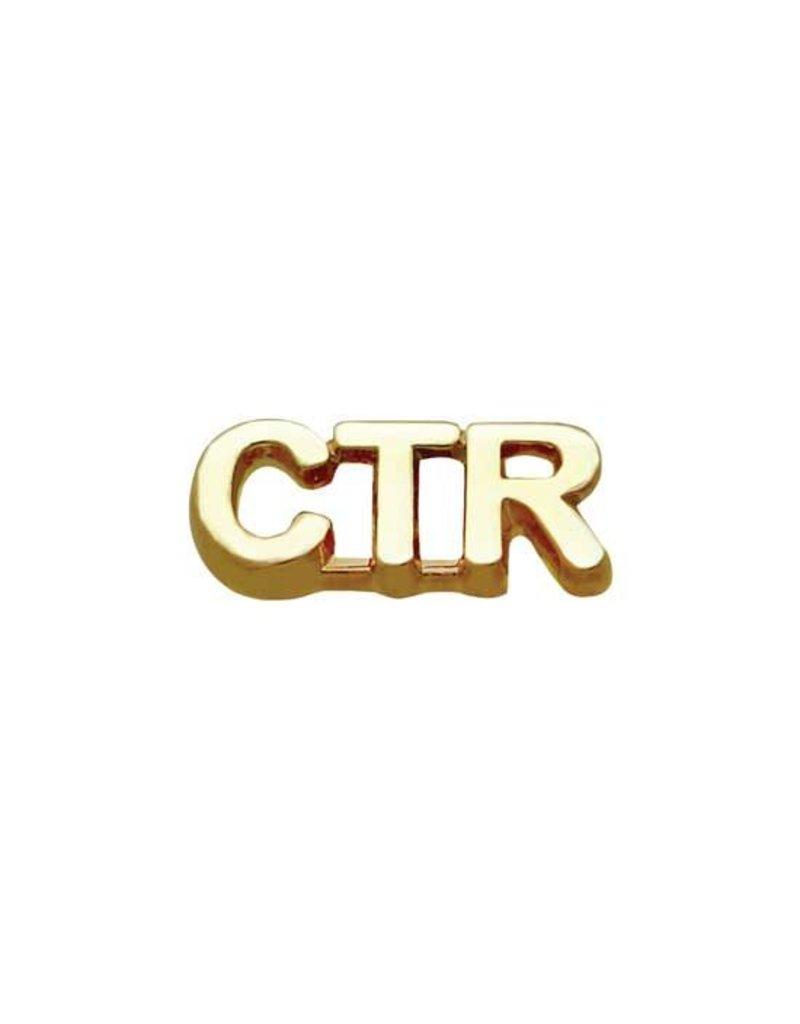 CTR Tie Pin Shiny Gold