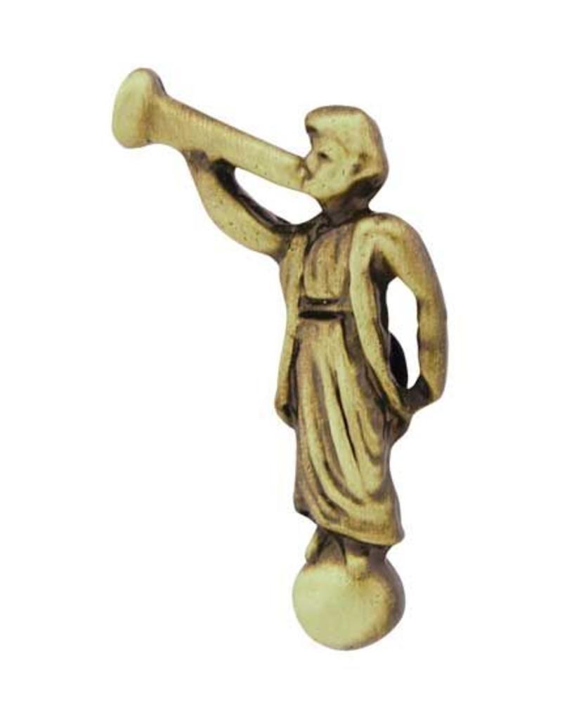 Angel Moroni Pin Antique Gold