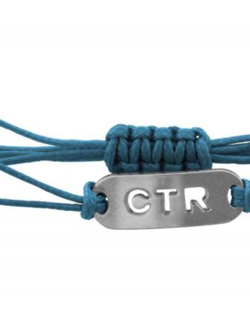 String CTR Bracelet Blue