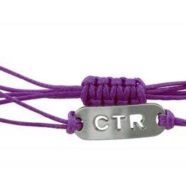 String CTR Bracelet Purple