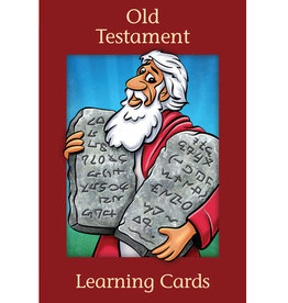 Old Testament Learning Cards, Harston (50% discount, non-returnable)