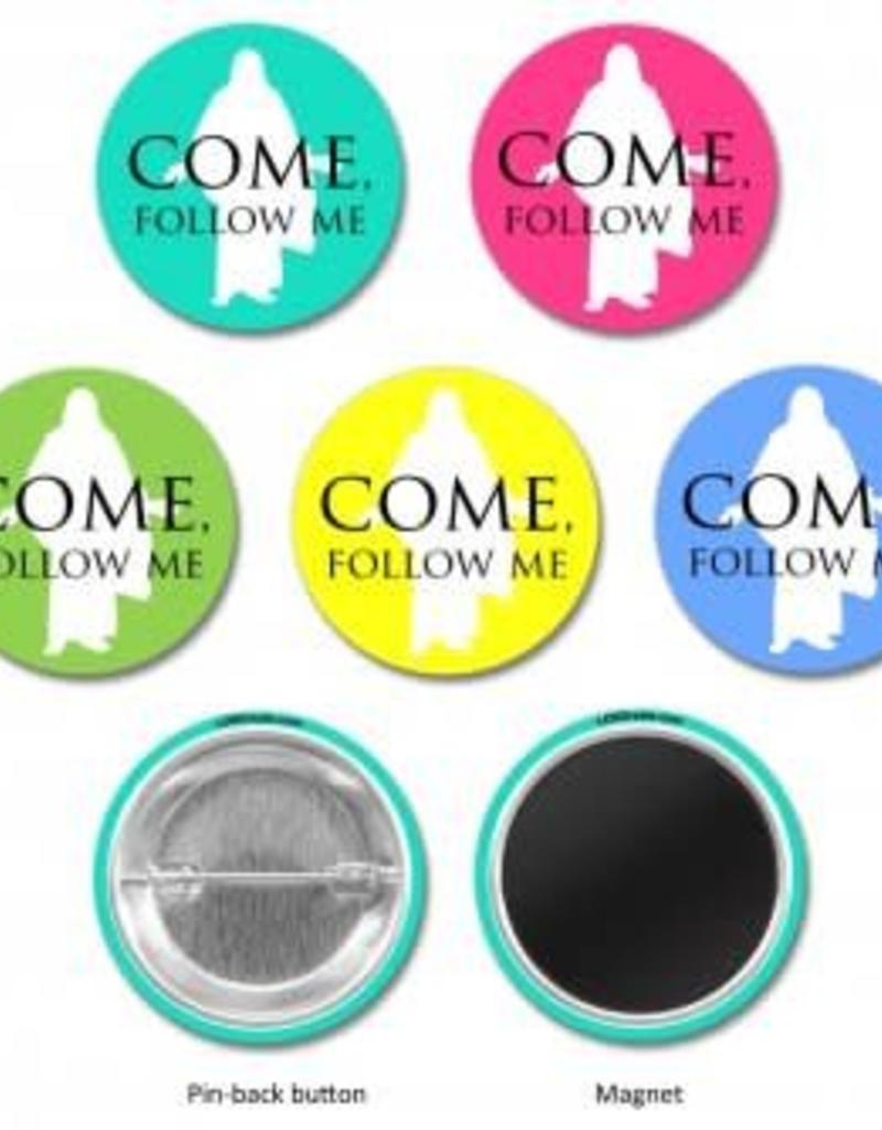 "2019 ""Come, Follow Me"" PIN  Pin-Back"