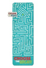 Choose The Right Maze Bookmark & Pin Set
