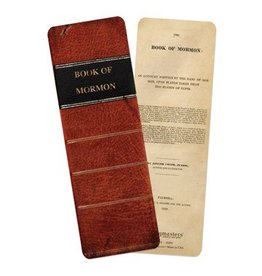 Book of Mormon Spine Bookmark