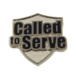 Called to Serve Silver Finish, Pin / Tie Tac,