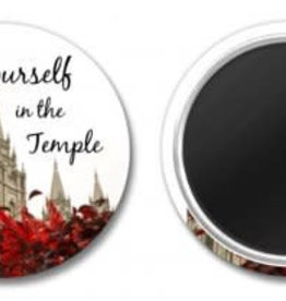 """""""See Yourself in the Temple"""" Magnet (1.5"""")"""