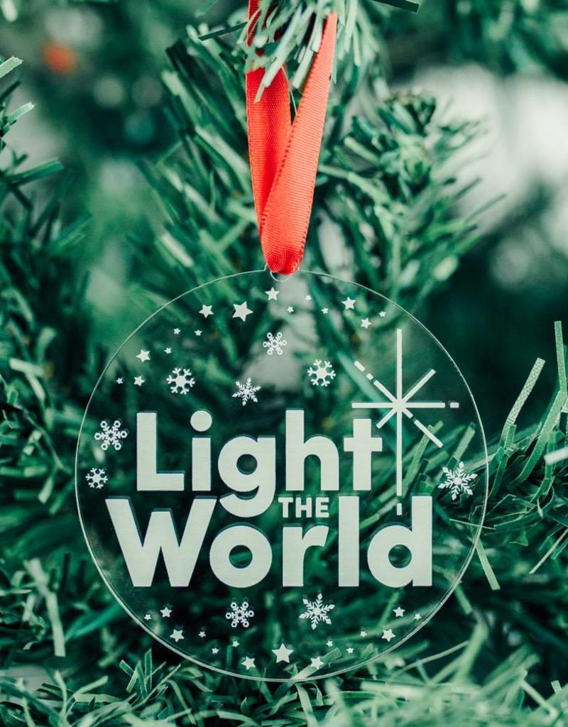 Light The World Ornament Acrylic