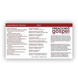 Preach My Gospel Pocket Card