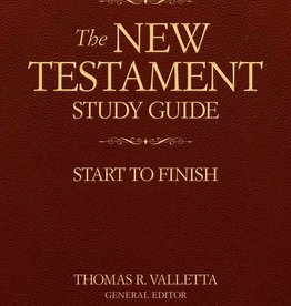The New Testament Study Guide: Start to Finish (Valletta)