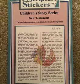 Scripture Stickers Scripture Stickers Children's New Testament