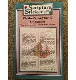 Scripture Stickers Children's New Testament