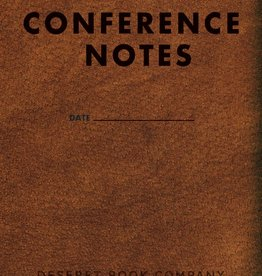 Conference Notes Journal Small Brown 3.5  5.5