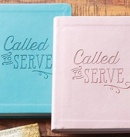 Called to Serve Journal (Aqua)