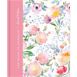 Deseret Book Company (DB) The Book of Mormon, Journal Edition, Pink Floral (No Index)