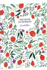 PRE-ORDER (Available February 2019) The Book of Mormon, Journal Edition, Red Floral (No Index)