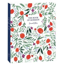 Deseret Book Company (DB) The Book of Mormon, Journal Edition, Red Floral (No Index)