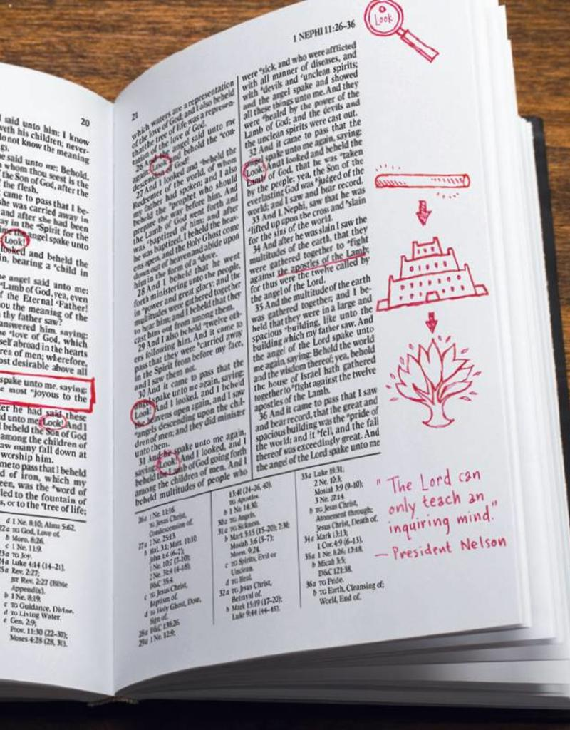 PRE-ORDER (Available February 2019)  The Book of Mormon, Journal Edition, Faux Leather, Large Print