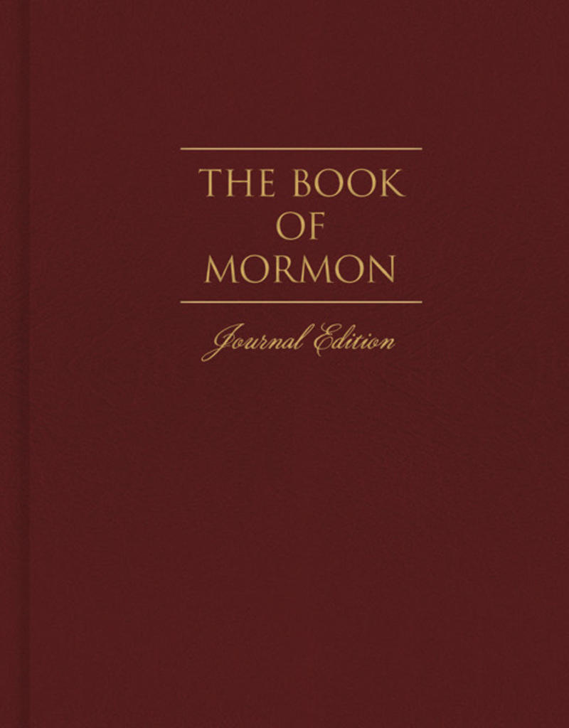 PRE-ORDER (Available February 2019) The Book of Mormon, Journal Edition, Red HARDCOVER (No Index)
