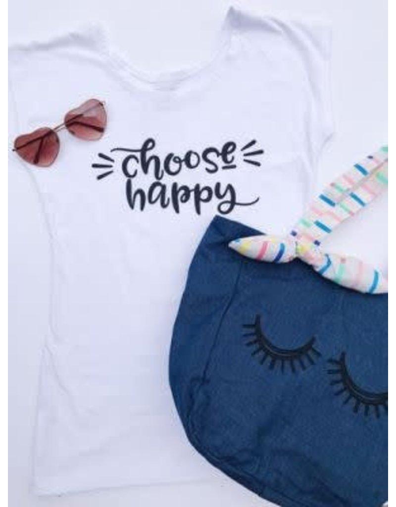 Choose Happy Graphic Tee