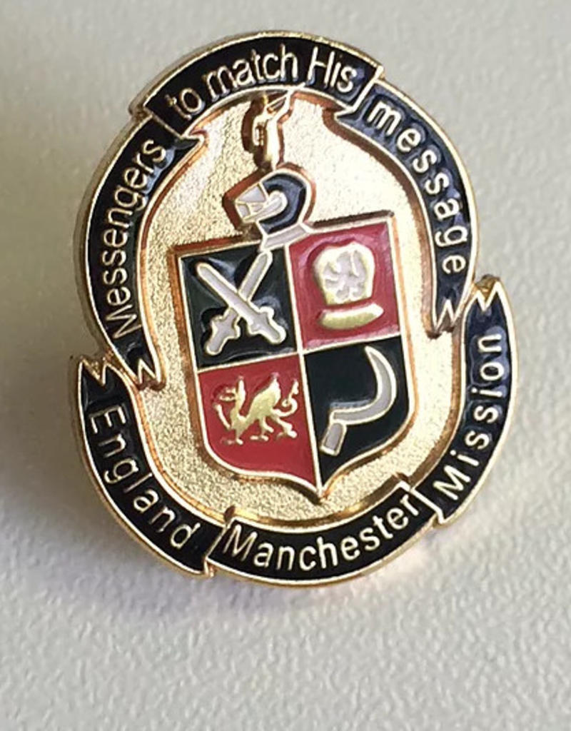England Manchester Mission Pendants/Cufflinks