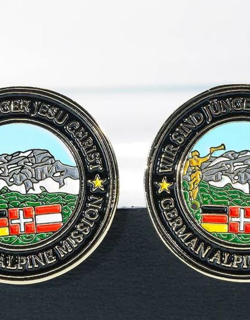 German Alpine Mission Pendants/TieBar/pin