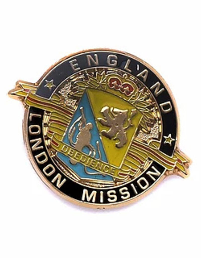 England London Mission Pin